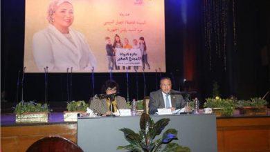 الإعلامية أسماء مصطفى تشكر السيدة انتصار السيسي على جائزة المبدع الصغير
