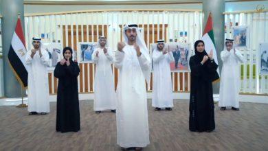 من ذوي الاحتياجات الخاصة .. شباب إماراتي يقدمون أغنية تحيا مصر بلغة الإشارة (فيديو)