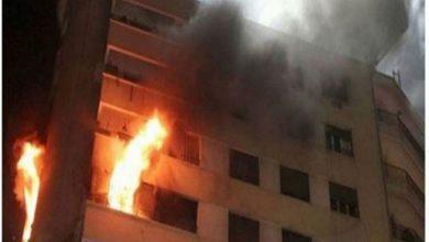 وفاة طفلين من ذوي الاحتياجات الخاصة في حريق شقة سكنية